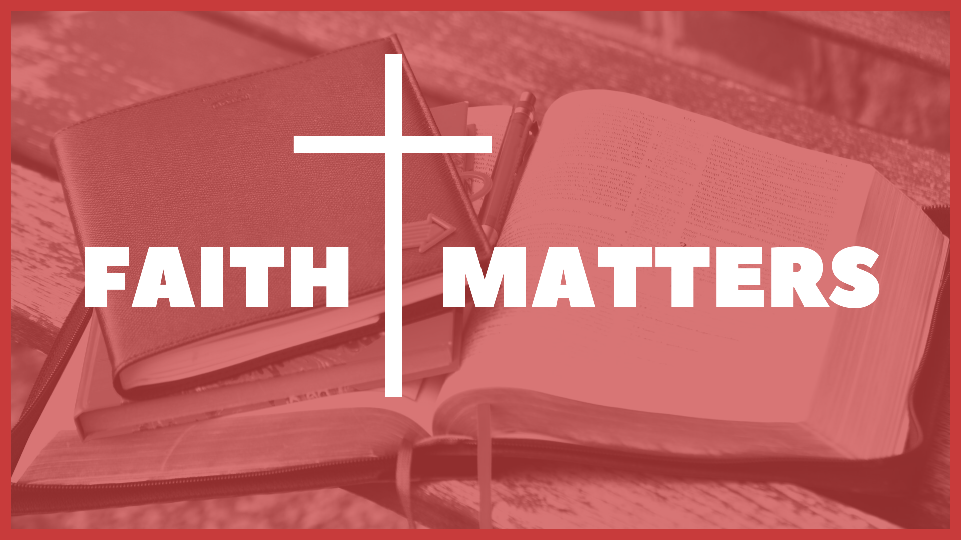 A relationship with Jesus influences the way that you view your life and the way you live it. Those changes are important but challenging to both understand and to apply. Listen to Jesus discuss these matters of faith and see how faith truly does matter!